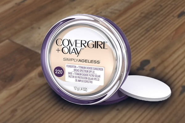 Covergirl and Olay Simply Ageless Foundation Reviews